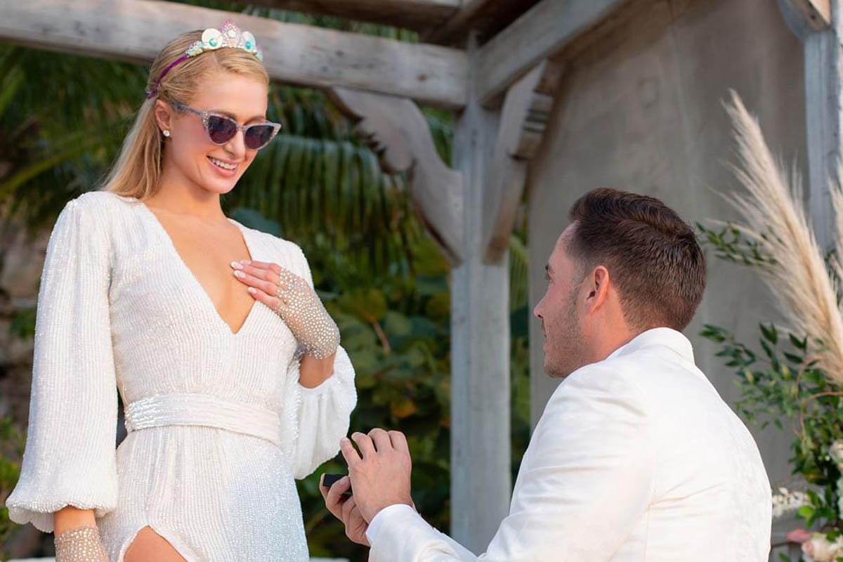 Paris Hilton's Engagement Dress